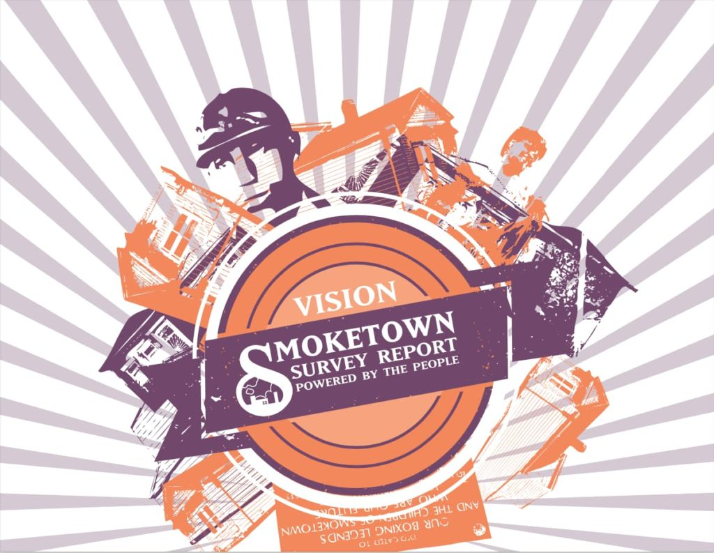 Cover of the Vision Smoketown report by Kentuckians for the Commonwealth